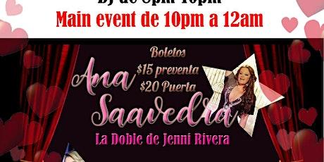 La doble de Jenni Rivera, Ana Saavedra y Ruby Joyce tickets