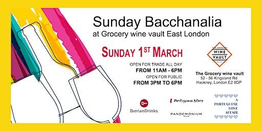 Sunday Bacchanalia Wine Tasting