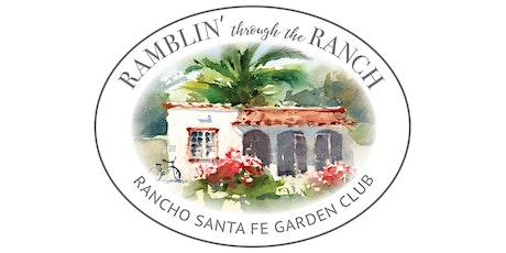 Rancho Santa Fe Garden Tour & Market tickets