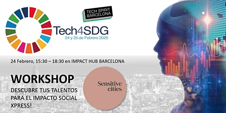 #Tech4SDG Workshop: Descubre tus Talentos para el Impacto Social (xPress) tickets