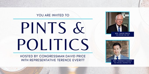 Wake Forest - Pints & Politics with Rep. David Price