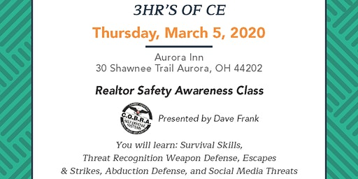 Realtor Safety Awareness Class