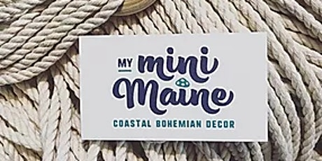 Macrame Plant Hanger Workshop with My Mini Maine tickets