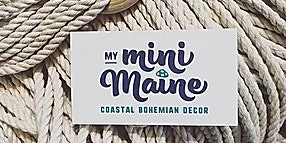 Macrame Plant Hanger Workshop with My Mini Maine