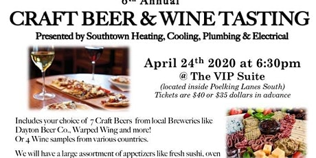 Craft Beer & Wine Tasting tickets