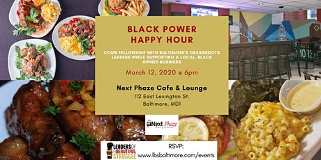Black Power Happy Hour - March 2020 tickets