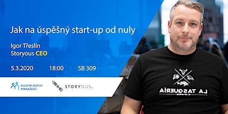Jak na úspěšný start-up od nuly tickets