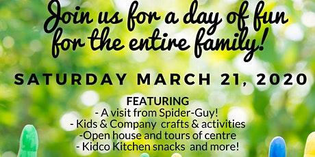 Free Family Fun Day at Kidco Fort Saskatchewan!  tickets