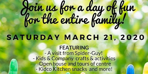 Free Family Fun Day at Kidco Fort Saskatchewan!