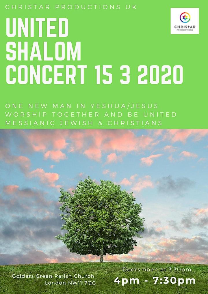 United Shalom Concert image