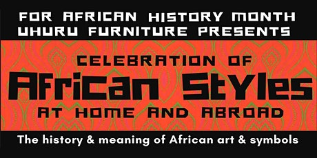 Celebration of African Styles At Home and Abroad tickets