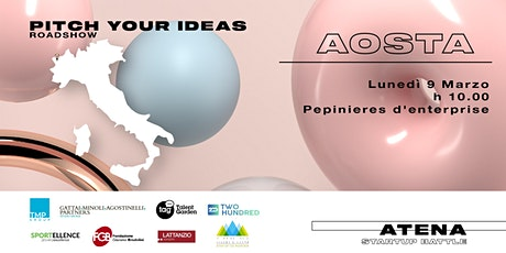 Roadshow Atena Startup Battle   Aosta tickets