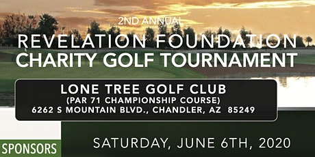 Revelation Foundation Charity Golf Outing tickets