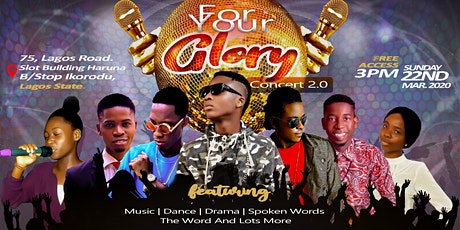 FOR YOUR GLORY CONCERT 0.2 tickets
