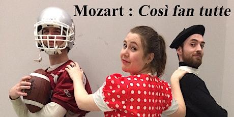 OPÉRA UOTTAWA : Così fan tutte de Mozart billets