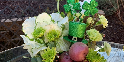 Floral Design Class & Wine Tasting - St. Patrick's Day Theme