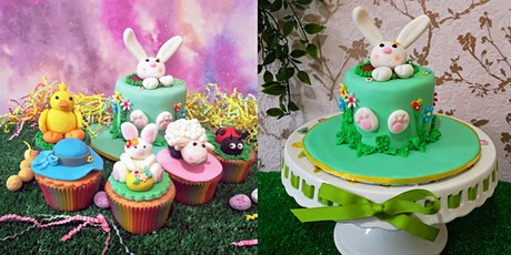 Children's Easter cupcake decorating Class tickets