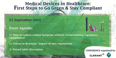 Medical Devices in Healthcare: First Steps to Go Green & Stay Compliant tickets