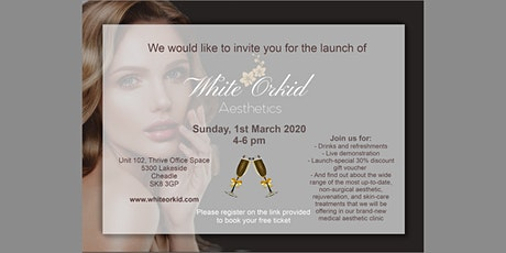 White Orkid Aesthetics Launch tickets