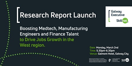 Research Report Launch - Galway Executive Skillnet tickets