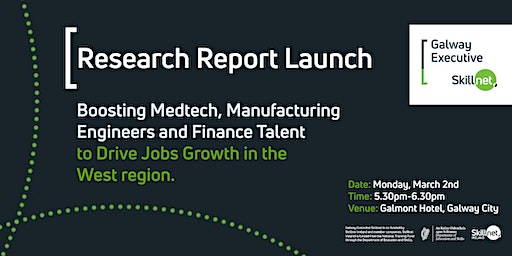 Research Report Launch - Galway Executive Skillnet