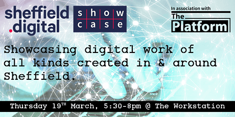 Sheffield Digital Showcase 6 tickets