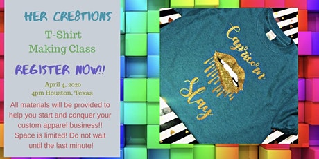 Her Cre8tions Shirt Making Workshop tickets