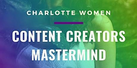 CLT Women: Content Creators Mastermind (w/ free wine tasting) tickets