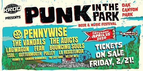 Punk in the Park tickets