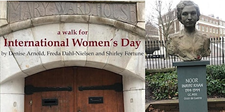 International Women's Day Walk - Russell Sq tube through Bloomsbury tickets