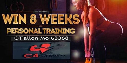 Win personal training FREE for 8 weeks Valued at $800