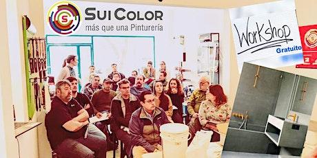Workshop GRATUITO Stucco y Revestimiento Cementicio Sui Color Sitex entradas