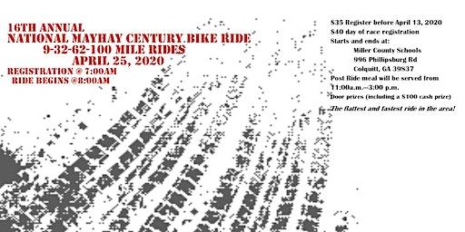 16th Annual Mayhaw Century Bike Ride