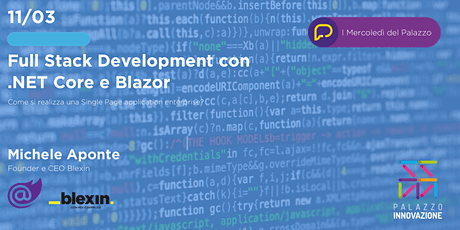 Full Stack Development con .NET Core e Blazor biglietti