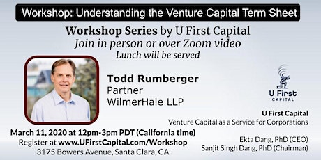 Workshop: Understanding Venture Capital Term Sheet (Seed vs Series A) tickets