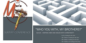 """Postponed - Men's Ministries Summit/Conference - """"Who..."""