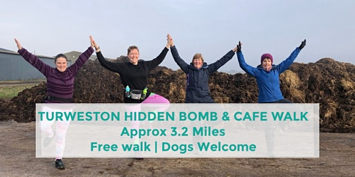 TURWESTON HIDDEN BOMB & CAFE WALK | APPROX 5 MILES | NORTHANTS