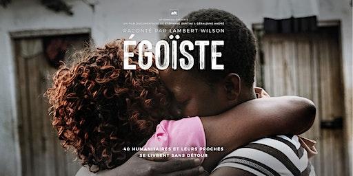 Projection du film Égoïste à Lugano