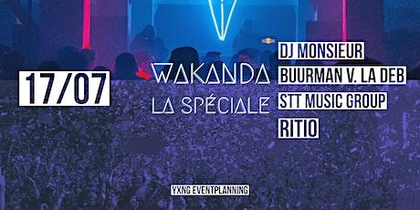 Wakanda La spéciale tickets