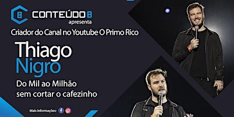 Palestra O Primo Rico - Thiago Nigro em Jundiaí-SP ingressos