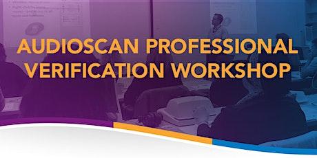 Audioscan Workshop 2020 - Solano Beach tickets