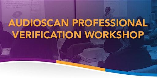 Audioscan Workshop 2020 - Solano Beach