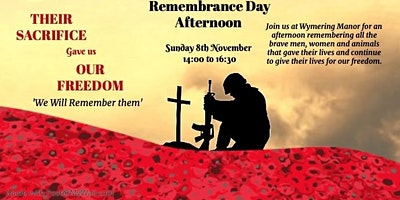 Wymering Manor's Rememberance Afternoon
