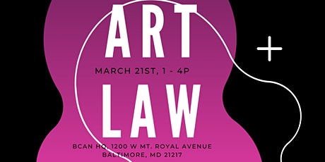 Art Law Clinic, March 2020! tickets