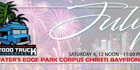 5th Annual Corpus Christi Food Truck Summerfest 2020 tickets