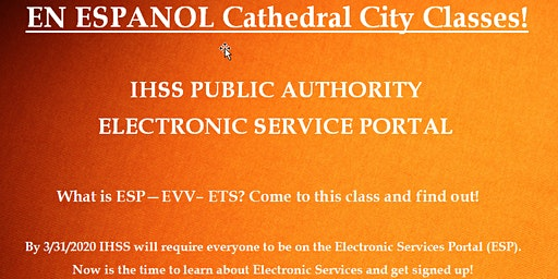 EN ESPAN0L! Cathedral City  Electronic Services Portal Training