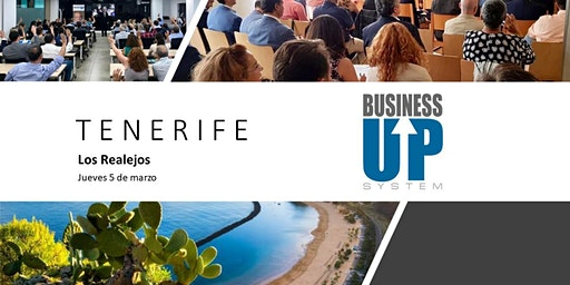 Evento Business Up TENERIFE (Los Realejos)