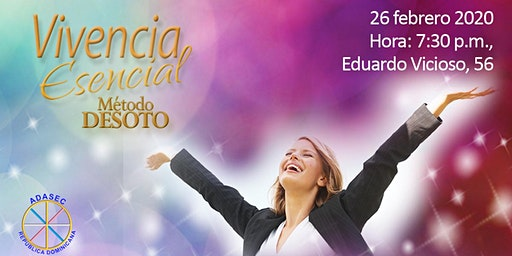 VIVENCIA ESENCIAL METODO DESOTO