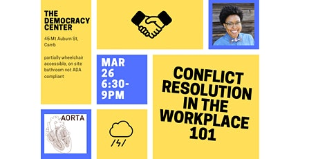 Conflict Resolution in the Workplace 101 tickets