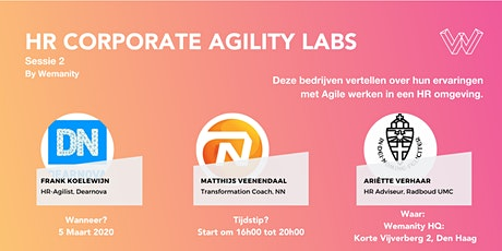 HR Corporate Agility Labs Sessie 2 tickets